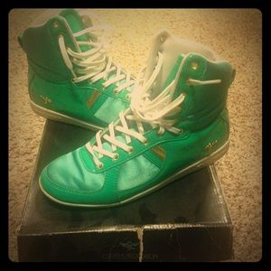 Turquoise Creative Recreation Sneakers